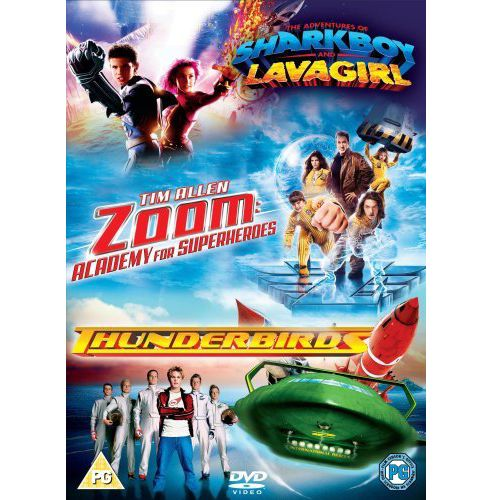 Zoom/Thunderbirds/The Adventures Of Shark Boy And Lava Girl (DVD Boxset)