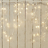 Brite Ideas Snowing LED Icicle Lights 960 Warm White
