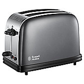 Russell Hobbs Colours Plus 2 Slice Toaster Grey