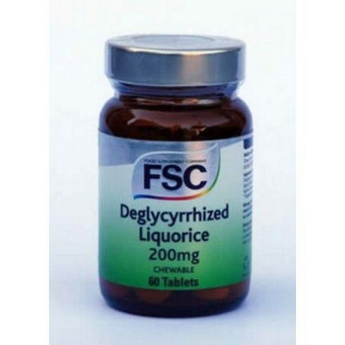 Fsc Liquorice 200Mg 60 Tablets