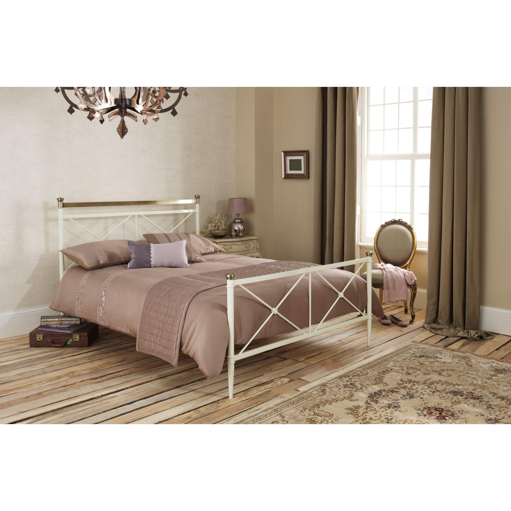 Serene Furnishings Pasha Bed Frame - King at Tesco Direct