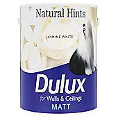 Dulux Matt Emulsion Paint, Jasmine White, 2.5L