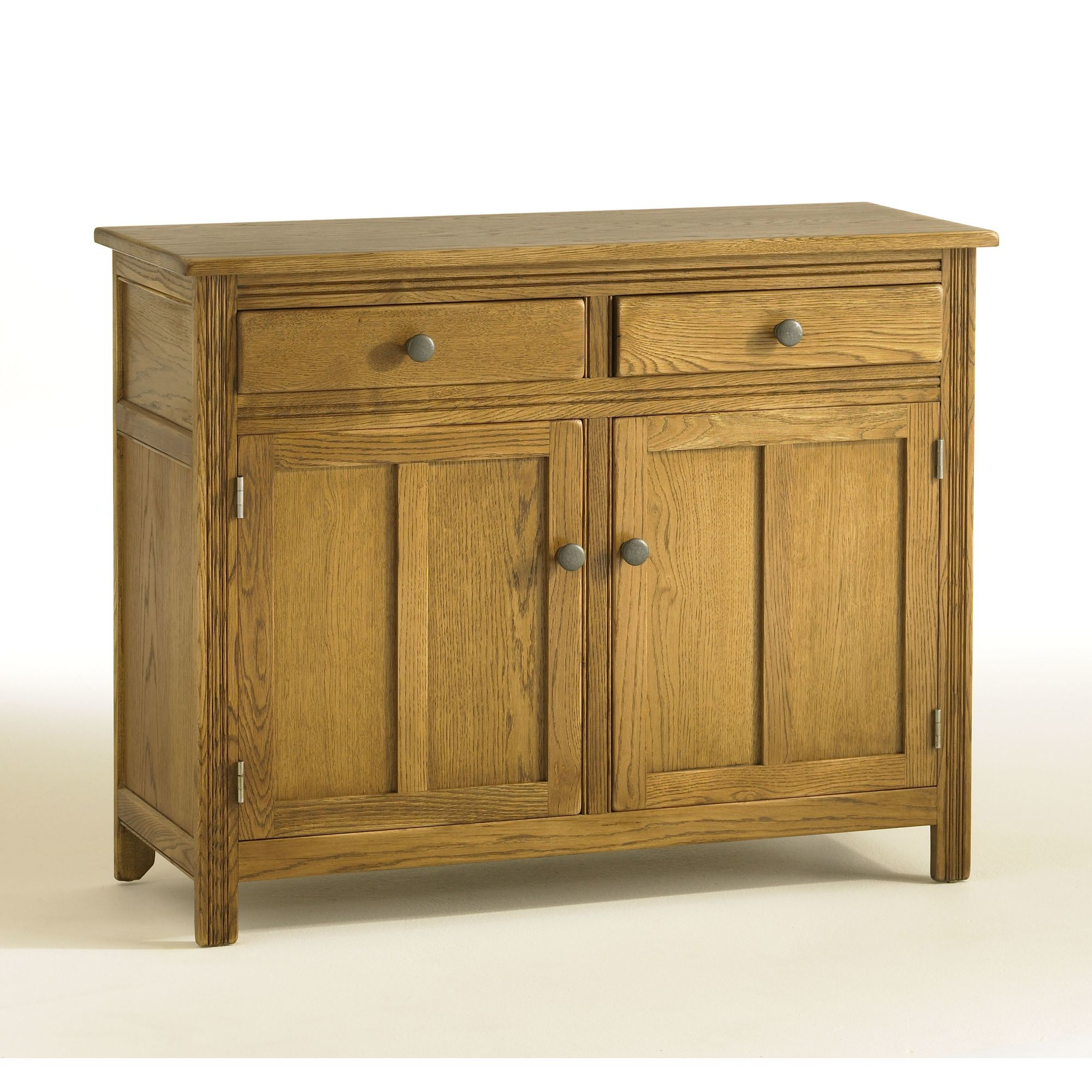 Old Charm Hertford 2 Door Sideboard - Natural at Tesco Direct