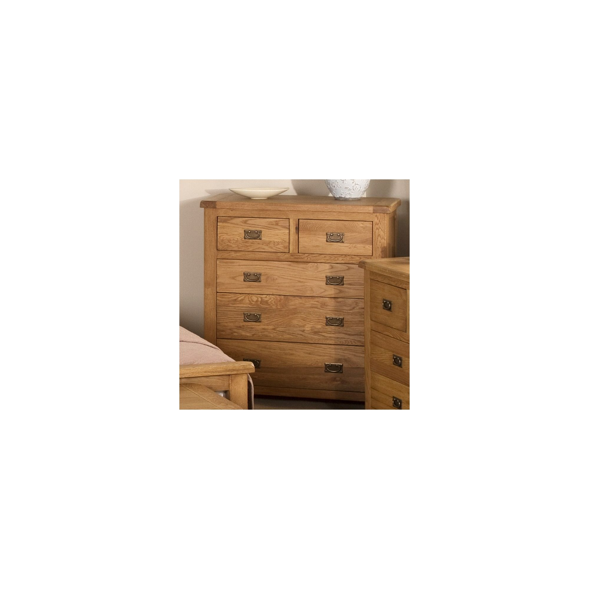 Elements Woodville Five Drawer Chest at Tesco Direct