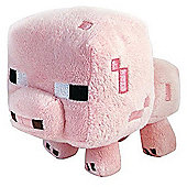 Minecraft Overworld Baby Pig Soft Toy