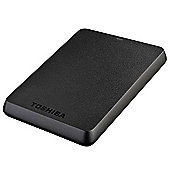 Toshiba Store.E Basics External Hard Drive - 750 Gb, Black