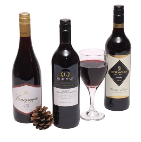 Three Bottle Australian Red Wines