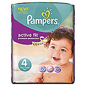 Pampers Active Fit Size 4 Monthly Pack - 168 Nappies