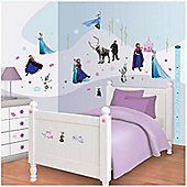 Disney Frozen Bedroom Sticker Kit with Height Chart