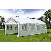 White 4x8m Wedding Garden Party Marquee