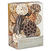 Tesco Sweet Vanilla Pot Pourri Balls