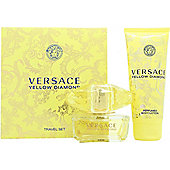 Versace Yellow Diamond Gift Set 50ml EDT + 100ml Body Lotion For Women