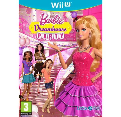 Barbie Dreamhouse Party Wii U Software