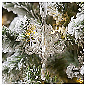 Silver Chandelier Christmas Tree Decoration