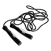 Reebok Elements Pro 2.8m Speed Skipping Rope, Black/White