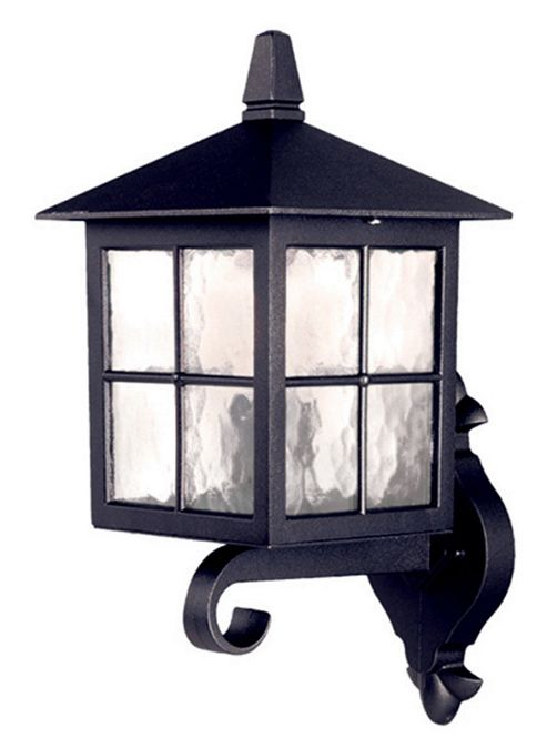 Elstead Lighting Winchester 1 Light Outdoor Wall Lantern in Black