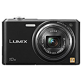 Panasonic Lumix SZ3 Digital Camera, Black, 16MP, 10x Optical Zoom, 2.7 inch LCD Screen