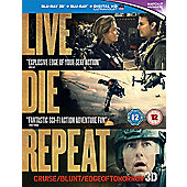 Edge Of Tomorrow [Blu-Ray 3D + UV Copy] - Live Die Repeat