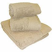 Luxury Egyptian Cotton Hand Towel - Beige
