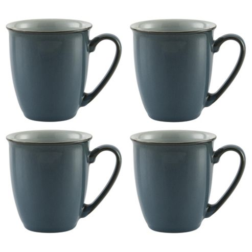 Denby Everyday 4 pack mug - Teal