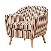 Sofa Collection La Brea Tub Chair- Brown