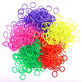 Jacks Scented Loom Bands 5 Pack Bundle - 1250 Bands