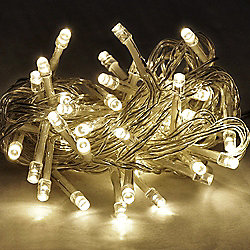 Set of 40 Battery Operated LED Fairy String Lights Warm White