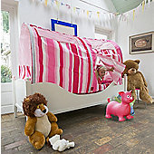 Pink Stripe Bed Tent
