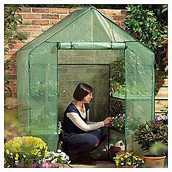 Dobbies Medium Walk-in Greenhouse