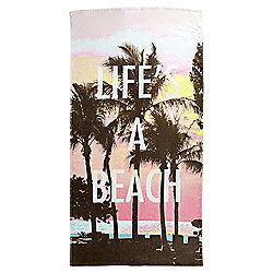 Tesco Palm Tree Beach Towel