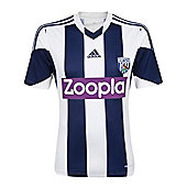 2013-14 West Brom Adidas Home Football Shirt - White