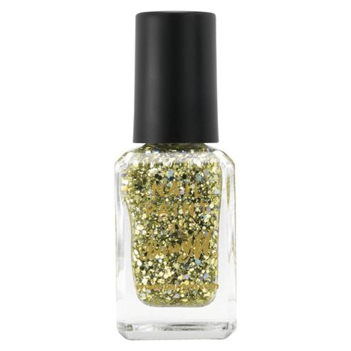 Barry M Jewel Glitter Nail Paint 351 - Yellow Topaz