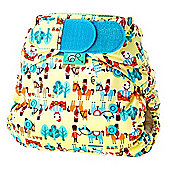 TotsBots Stretchy Wrap Humpty Nappy Cover (Size 2)