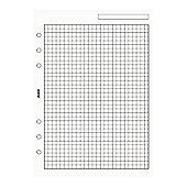 A5 Quadrille Notepaper