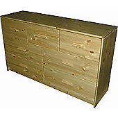 Oestergaard Connie Chest of Drawers with 3+4 Drawers - Antique leached
