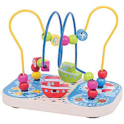 Bigjigs Toys Marine Bead Frame