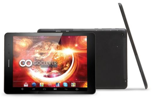 GoClever M7841 - Aries 785 (Black) - 7.8 Inch Quad Core IPS, 1GB/8GB Jellybean Tablet (3G Enabled & Protective Case Included)