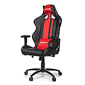 AK Racing Rush Gaming Chair Red The new Rush series is a great looking new chair High-quality PU leather and a stripe design with fantastic style