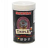 Brewferm Triple Belgian (ABV 8%) 24 pint beer kit