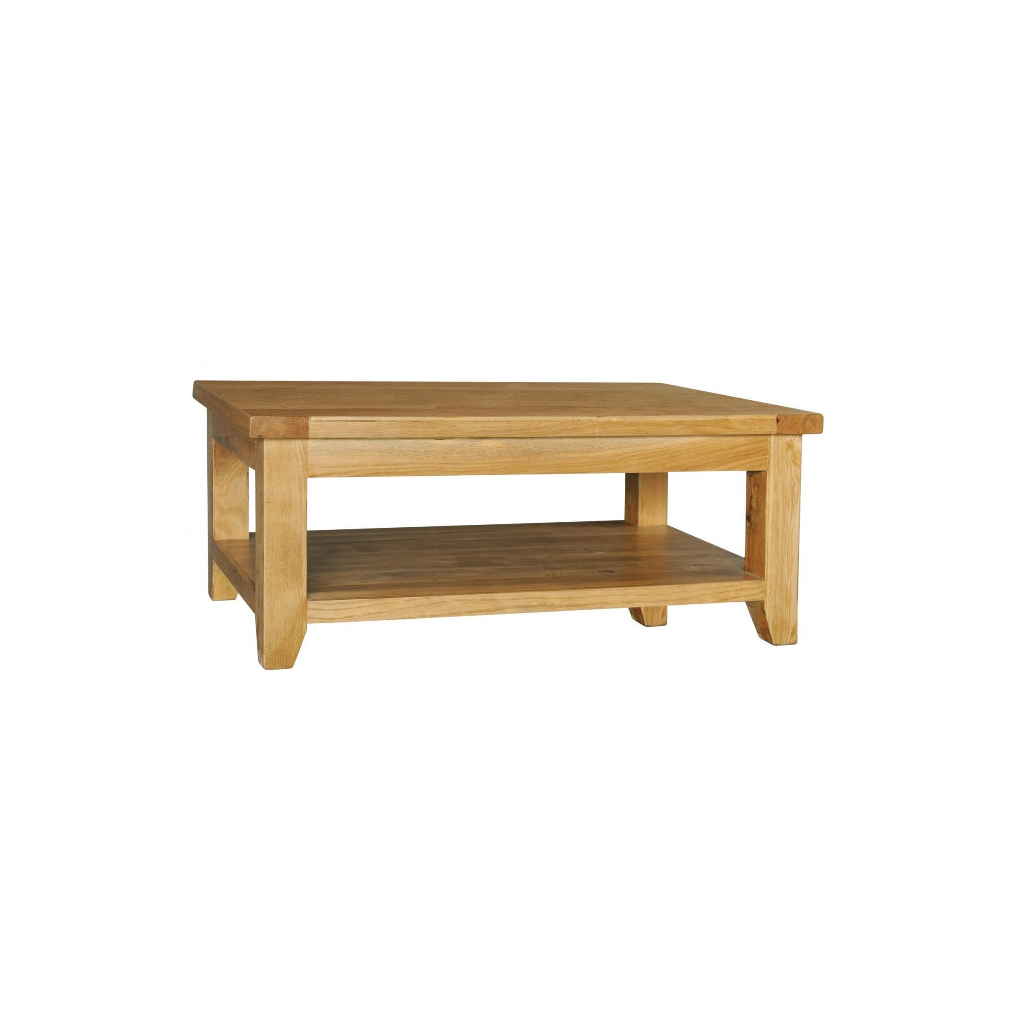 Hawkshead Calgary Rectangular Coffee Table with Shelf at Tesco Direct