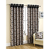 Flora Ready Made Lined Eyelet Curtains
