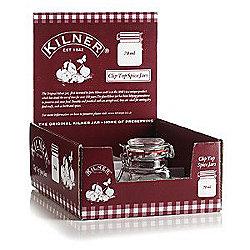 Kilner Square Clip Top 70ml Spice Jar
