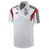 2014-15 Germany Adidas Polo Shirt (White) - White