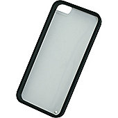 Tortoise™ Soft Protective Case for iPhone 5/5S,supplied in Clear with Black Trim.