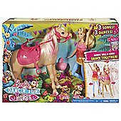 BARBIE DOLL DANCING HORSE