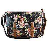Anna Smith Vintage Floral Print Satchel