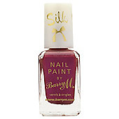 Barry M Silk Nail Paint 9 Poppy 10ml