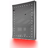 Ambient Shaver LED Bathroom Illuminated Mirror With Demister Pad & Sensor K169R