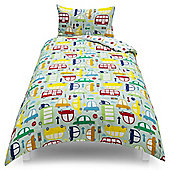 Tesco Kids Cars Duvet Set, Single
