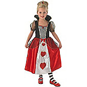 Red Queen - Child Costume 3-4 years